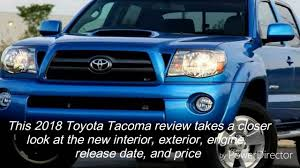 nissan tacoma 2018 toyota tacoma features youtube