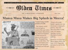 old newspaper template word free business plan template