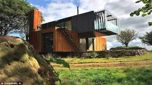 Shipping Container Home Interiors Shipping Containers Made Into Unique Homes Youtube