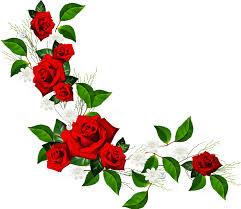 free horizontal flower border clipart image 6 horizontal clipartix