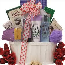 valentines day gift baskets day gift basket for lavender pleasures