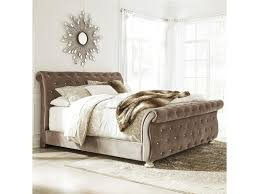 Upholstered Sleigh Bed Signature Design By Cassimore Upholstered Sleigh Bed