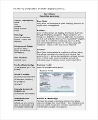 sample short business plan template 7 free documents download
