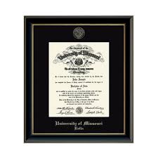 diploma frame the s t store of missouri s t onyx diploma frame