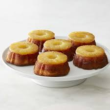 pineapple upside down cakes williams sonoma