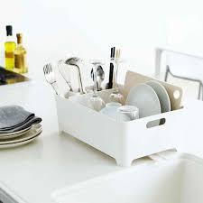egouttoir cuisine egouttoir design blanc rangement vaisselle cuisine intérieur