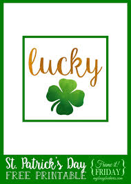 my busy beehives lucky shamrock frame it friday