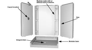 prefab shower stall inspiration uber home decor u2022 40441