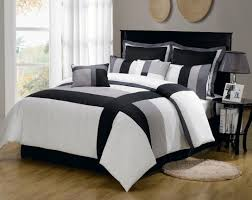 bedding set black and white queen bedding wondrous black and