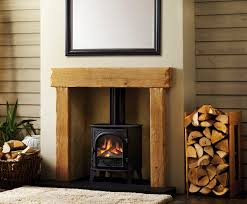 add a wooden fireplace to your home for an authentic style in swansea