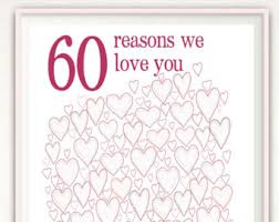 gift ideas 60 year woman 60th birthday gift for printable gold and pink 60th
