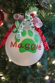 ornaments to personalize personalized dog or cat ornament pets ornament dog