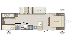 Keystone Floor Plans by 2018 Keystone Bullet 287qbs Model