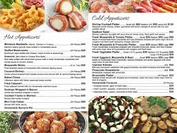 catering menu at marino s supermarkets marino s supermarket