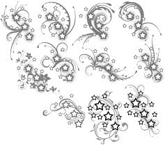 and swirls design for tattoomagz
