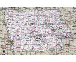 Iowa Maps Maps Of Iowa State Collection Of Detailed Maps Of Iowa State