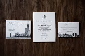 chicago wedding invitations wedding invitations chicago married in chicago