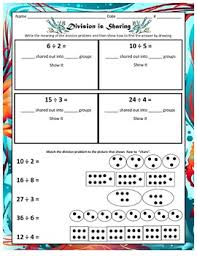 into division sharing making equal groups repeated subtraction