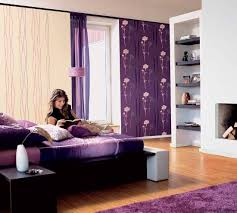 Bedroom Purple Wallpaper - 50 purple bedroom ideas for teenage girls ultimate home ideas