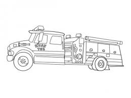 free fire truck coloring pages printable gallery photos 13089