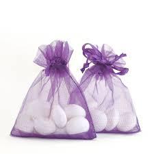 organza bag royal purple organza bags