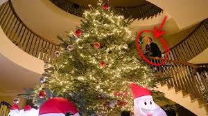 christmas tree house world s biggest christmas tree in my house youtube