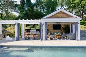 pool house by kristina crestin northshore home spring 2016