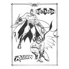 hellboy coloring pages free batman and robin coloring page to print simply superheroes