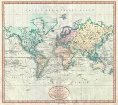 Accurate Map Of The World Ottoman Map Of The World 1803 Rebrn Com