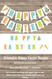 Happy Halloween Banner Printable Free Printable Happy Easter Banner