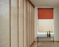 Contemporary Window Treatments by Sistema De Paneles Deslizantes Izq Y Enrollables El Fondo En