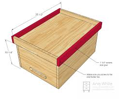 build your own toy box new woodworking style