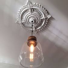 Medallion For Light Fixture Awesome The Benefits Of Installing Ceiling Medallions Light Covers