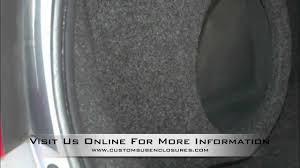 2006 honda civic speakers 2006 2011 honda civic coupe custom fiberglass subwoofer enclosure