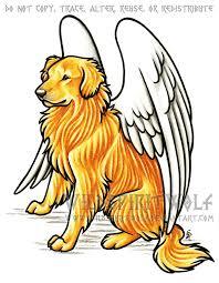 golden retriever dog memorial by wildspiritwolf on deviantart