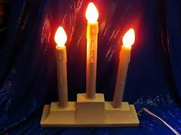 3 candle electric light 2 vintage 3 flame light drip candle window candolier electric