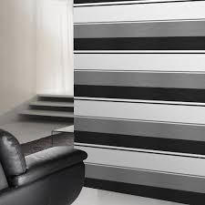 vogue black white u0026 grey striped wallpaper amazon co uk