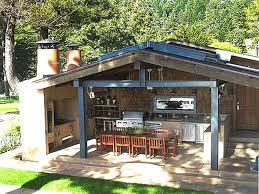 outdoor cooking spaces cinder block grill surround outdoor kitchen ideas for small spaces