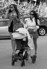 kourtney mason and khloe have lunch at quattro in miami zimbio