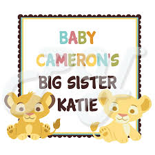 baby lion king baby shower king baby shower personalized party favor