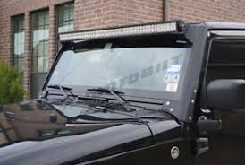 jeep jk light bar brackets motobilt jeep jk 50 inch led light bar brackets ebay