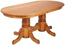 72 pedestal dining table oak double pedestal dining table review