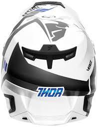 thor motocross helmet thor verge rebound white gray motocross helmets thor