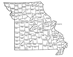 Map Missouri Maps Mo