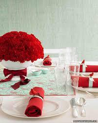wedding colors red and aqua martha stewart weddings