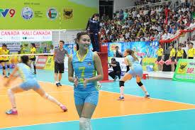 bong nu ngắm những bóng hồng giải nữ bóng chuyền quốc tế vtv9 bình điền