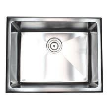 drop in utility sink stainless top mount drop in stainless steel single bowl kitchen sink laundry