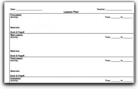 top 10 lesson plan template forms and websites hubpages