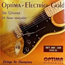 light electric guitar strings optima gold plated electric 09 42 extra light guitar strings