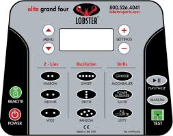 amazon com lobster sports elite grand four tennis ball machine